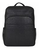 Фотография Черный удобный мужской кожаный рюкзак B3-8603A