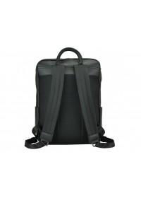 Мужской кожаный рюкзак черного цвета B3-8605A