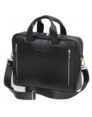 Фотография Кожаная деловая мужская сумка BLACK DIAMOND BD14A