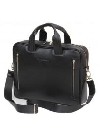 Кожаная деловая мужская сумка BLACK DIAMOND BD14A
