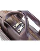 Фотография Кожаная коричневая мужская сумка BLACK DIAMOND BD25С