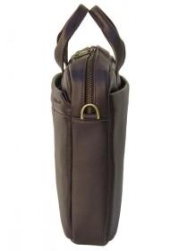 Кожаная коричневая мужская сумка BLACK DIAMOND BD25С