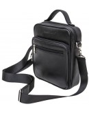 Фотография Кожаная мужская сумка - барсетка BLACK DIAMOND BD45V2A