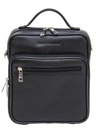 Кожаная мужская сумка - барсетка BLACK DIAMOND BD45V2A