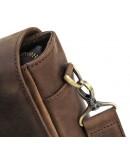 Фотография Мужская сумка из кожи на плечо BLACK DIAMOND BD51CCRH