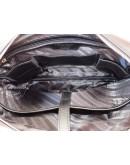 Фотография Черная кожаная мужская сумка BLACK DIAMOND BD6A