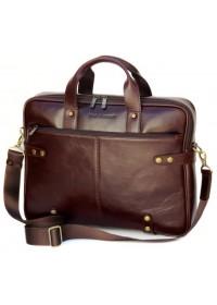 Мужская кожаная коричневая сумка BLACK DIAMOND BD8C ALC