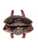 Фотография Мужская кожаная коричневая сумка BLACK DIAMOND BD8C ALC