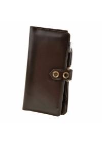 Мужской кожаный коричневый тревелкейс BN-TK-4-choko