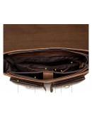 Фотография Кожаный мужской портфель коричневый BX1061C