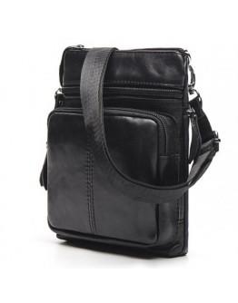Черная сумка на плечо небольшая BX124A