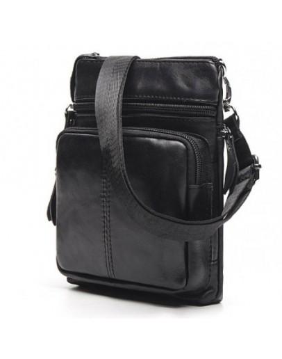 Фотография Черная сумка на плечо небольшая BX124A