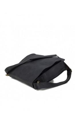 Черная сумка на плечо формата А4 BXA603A