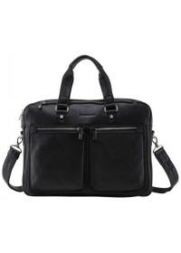 Мужская кожаная сумка для города и ноутбука Blamont Bn001A-1