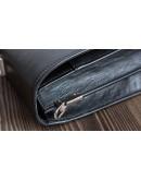 Фотография Черный деловой мужской портфель из натуральной кожи Bn063A