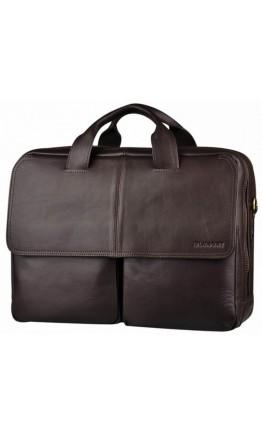 Вместительная кожаная сумка - тревел кейс Blamont Bn065C-1