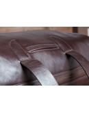 Фотография Коричневый мужской кожаный тревелбег Blamont Bn073C