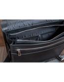 Фотография Черная деловая сумка на плечо формата A4 Blamont Bn090A