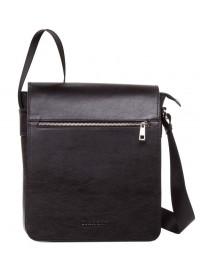 Черная сумка мужская большая на плечо Blamont Bn091A