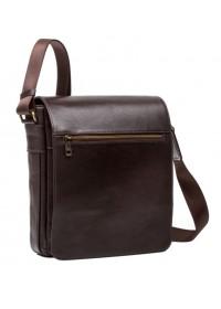 Коричневая сумка мужская большая на плечо Blamont Bn091C