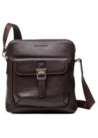 Коричневая плечевая удобная сумка на плечо Blamont Bn093C