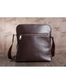 Фотография Коричневая плечевая удобная сумка на плечо Blamont Bn093C