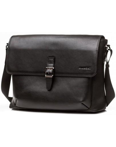 Фотография Большая горизонтальная мужская сумка формата А4 Blamont Bn094A
