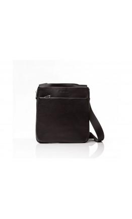 Черная повседневная кожаная сумка через плечо Blamont Bn096A