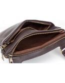 Фотография Мужская планшетка - кожаная сумка на плечо Blamont Bn096C