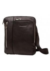 Черная мужская сумка кожаная планшетка Blamont Bn099A