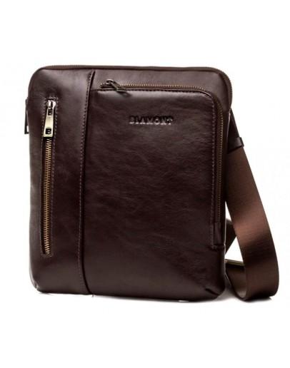 Фотография Коричневая мужская сумка - планшетка Blamont Bn099C