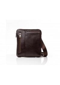 Коричневая мужская сумка - планшетка Blamont Bn099C