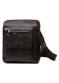 Черная плечевая сумка - мессенджер Blamont Bn101A