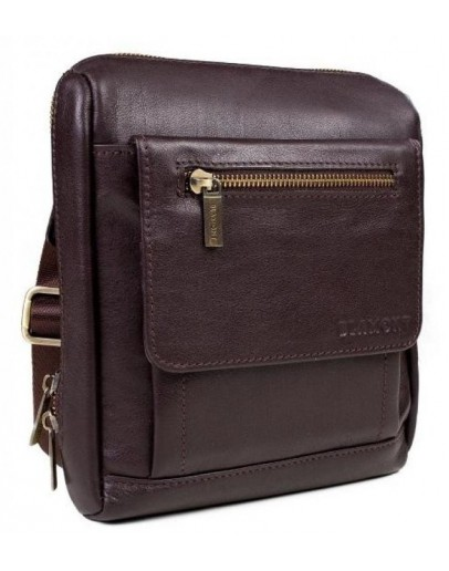 Фотография Коричневая плечевая сумка - мессенджер Blamont Bn101C