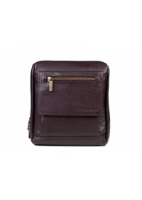 Коричневая плечевая сумка - мессенджер Blamont Bn101C