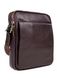 Коричневая мужская сумка с клапаном Blamont Bn102C