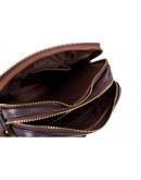 Фотография Коричневая мужская сумка с клапаном Blamont Bn102C