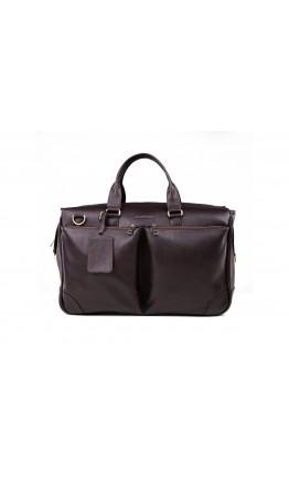 Коричневая деловая сумка для командировок Blamont Bn103C