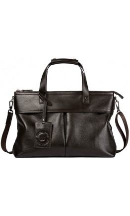 Коричневая мужская сумка для ноутбука Bs 7101 brown