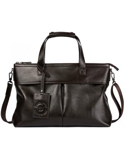 Фотография Коричневая мужская сумка для ноутбука Bs 7101 brown