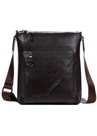 Коричневая мужская сумка планшет Bs7000