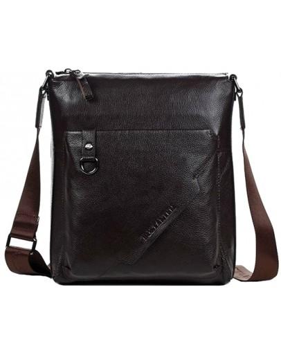 Фотография Коричневая мужская сумка планшет Bs7000