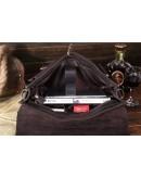 Фотография Мужской кожаный портфель коричневого цвета Bx014