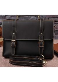 Кожаный мужской портфель среднего размера Bx015