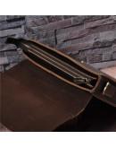 Фотография Кожаный мужской портфель среднего размера Bx015