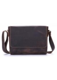 Кожаная сумка мужская коричневая Bx018