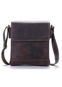 Кожаная сумка мужская на плечо Bx030