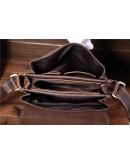 Фотография Кожаная сумка мужская на плечо Bx030
