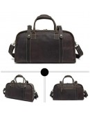 Фотография Вместительная мужская сумка для ручной клади Bx1036