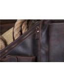 Фотография Кожаный рюкзак мужской, на одну шлейку Bx1089